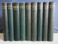 Cosmos Series Literary Classics circa 1897 published by Hurst & Co. 9 Volumes