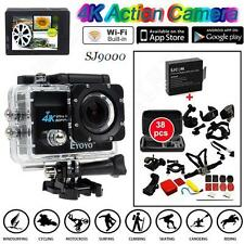 "SJ9000 4K HD WiFi Sports Action Camera 2.0""LCD +38 in1 Accessories+Extra Battery"