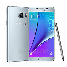 Samsung Galaxy Note 5 DUAL SIM ( Unlocked ) 4G LTE 64GB 5.7in 16MP S Pen Silver