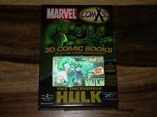 Marvel COMX 3D: The Incredible Hulk (Windows/Mac, 2003) ~ COMPLETE IN BOX ~ NICE