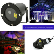 Xmas Outdoor Laser DJ Disco Stage Static Starry Light Projector Landscape Garden
