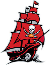 Tampa Bay Buccaneers NFL Color Die-Cut Decal / Car Sticker *Free Shipping