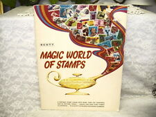 SCOTT MAGIC WORLD OF STAMPS POSTAGE STAMP ALBUM 1972 NEVER USED