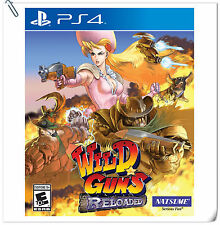 PS4 Wild Guns: Reloaded SONY PLAYSTATION Action Game Natsume