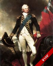 WILLIAM IV IN UNIFORM PAINTING BRITISH MILITARY HISTORY ART REAL CANVAS PRINT