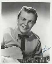 Rudy Hansen Signed 8x10 Publicity Photo - Grand Ole Opry Scrapbook Collection