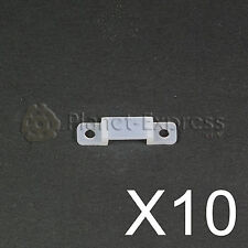 10 x Grapa fixing clip de 8mm. para tira led. 5050 3528 SMD sujecion waterproof