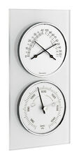 WEATHER STATION GLASS TFA 20.3022 ANALOG WEATHER STATIONS BAROMETER THERMO HYGRO