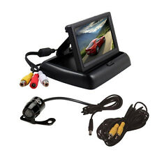 "Universal Car Rear View Reverse Back UP Parking Camera + 4.3"" TFT LCD Monitor"