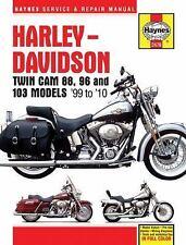 Haynes Service & Repair Manual: Harley-Davidson Twin Cam 88, 96 and 103...