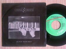 "CHINA CRISIS - BLACK MAN RAY - 45 GIRI 7"" ITALY"