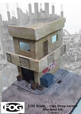 1/35 Scale - 'Iraq Shop corner' large middle east diorama with 280 x 240mm base