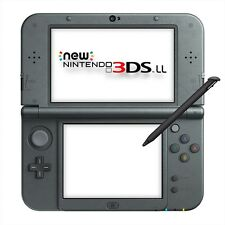 Nintendo New 3DS LL (XL) Console System Metallic Black Brand New Free shipping