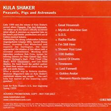 Peasants Pigs & Astronauts by Kula Shaker (Cd Mar-1999) Promo CD