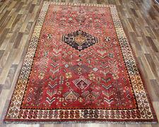 OLD PERSIAN SHIRAZ TRIBAL RUG 250 X 150 CM PERSIAN RUGS ORIENTAL CARPETS