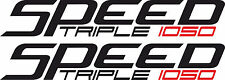 Speed Triple 1050 Fairing Decals / Stickers X2 (Any Colour)