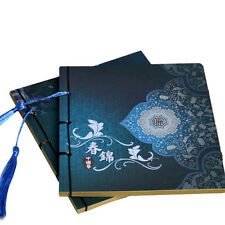 Chinese Style Spring Notebook Retro Vintage Classic Thread Binding Diary Journal