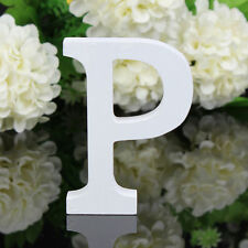 Letter P Wooden Alphabet Home Name Freestanding Wedding Birthday Party Decor #1