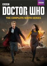 DOCTOR WHO: Complete Ninth Series, Season 9,NEW (DVD, 5-Disc Set), Fast Shipping
