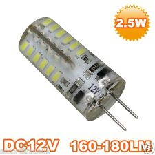 G4 2.5W HALOGEN 3014-SMD LED Cold White Light Bulb 12V Uk Seller