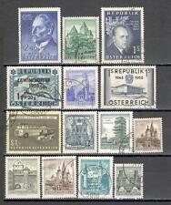 R5211 - AUSTRIA 1957 - LOTTO TEMATICI DIFFERENTI - VEDI FOTO