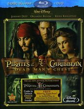 Pirates of the Caribbean: Dead Man's  (2011, Blu-ray NIEUW) BLU-RAY/WS2 DISC SET