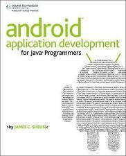 Android Application Development for Java Programmers, Sheusi, James, Good Book