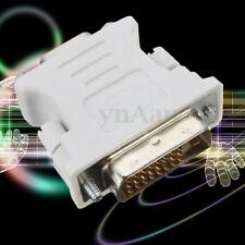 DVI DVI-D (24+1) Dual Link Male to VGA 15 Pin Female Adapter Converter PC Laptop