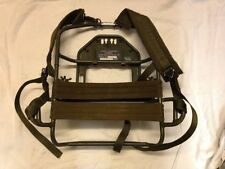 Ex British Army Clansman Radio back pack radio mount and adapter.