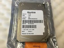 """Worldisk Fujitsu Toshiba MBR2073SA000600C 73GB 15K SAS 2.5"""" Server HDD"""