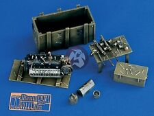 Verlinden 1/48 German Luftwaffe Maintenance Corner with Tools WWII [w/PE] 1132