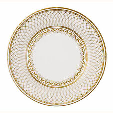 8 x Gold LARGE Paper Plates - Golden Wedding 50th Anniversary Party or Wedding