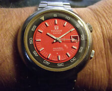 TISSOT SIDERAL DIVERS 2 CROWN - VINTAGE AUTOMATIC S.STEEL - SWISS MADE