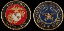 UNITED STATES MARINE CORPS CHALLENGE COIN US MILITARY COLLECTIBLE COINS NEW