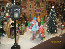 """TRAIN GARDEN VILLAGE HOUSE """" ME and MOMMY SHOPPING FIGURE """" + DEPT 56/LEMAX info"""
