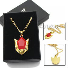 The Legend of Zelda Red Jewel Necklace+Box Cosplay Pendant Collar Lovely Golden