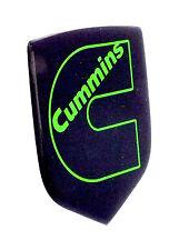 DODGE RAM CUMMINS GRILLE EMBLEM 2006-2010  Black/Lime Green Outline