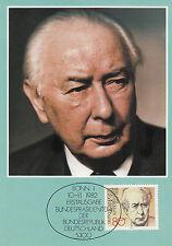 Heuss T.  Bundespräsiden Maxikarte 1982 weitere im Shop