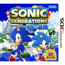 NINTEND DS NDS Import Japan 3DS Sonic generation Sonic Generations