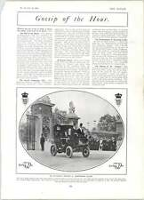 1905 Eton Harrow Cricket Match Lord's Crake Tod Up To Date Wedding Carriage