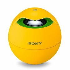 Sony SRSBTV5 Portable NFC Bluetooth Wireless Speaker System Yellow FIFA SRS-BTV5