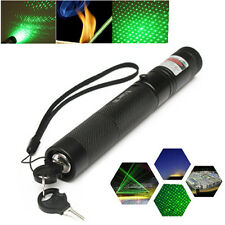 Powerful G303 Green Laser Pointer Pen Adjustable Focus 532nm Lazer Visible Beam