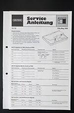 GRUNDIG CITY-BOY 400 Original Service-Manual/Service-Anleitung/Schaltplan! o31