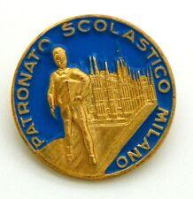 Spilla Patronato Scolastico Milano (Fratelli Tanci Novate M.) cm 2,1