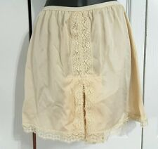 Fancy vintage Formfit Rogers nylon & lace sissy petti panties slip sz M medium