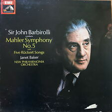 SLS 785 Mahler Symphony No. 5, Five Ruckert Songs / Barbirolli 2 LP box