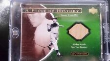 2001 Upper Deck Ovation MICKEY MANTLE Piece of History Bat *Yankees