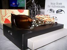 NEW VHTF OAKLEY ARTIST SERIES ROBERT PIMPLE HIJINX BROWN SMOKE WITH DARK BRONZE