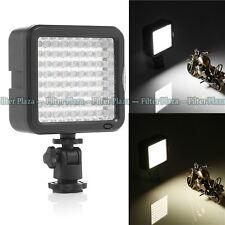 72 LED Video Light Lamp For Canon Nikon Pentax DSLR Camera DV Camcorder w Dimmer