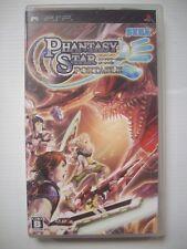 PHANTASY STAR PORTABLE (Japan Region 2) - PSP Game - VGC - Manual